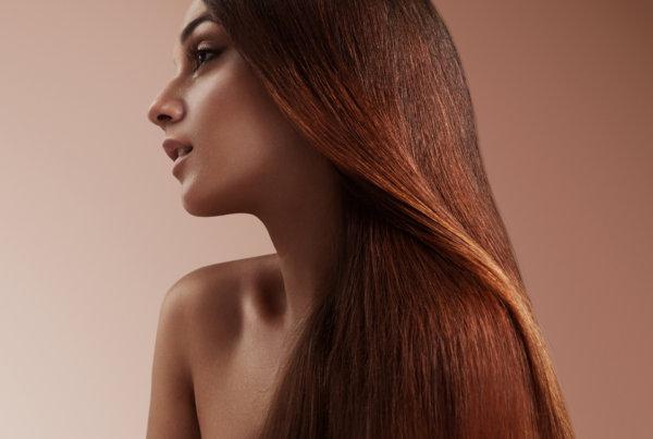 lissage au tanin pour des cheveux souples et résistants