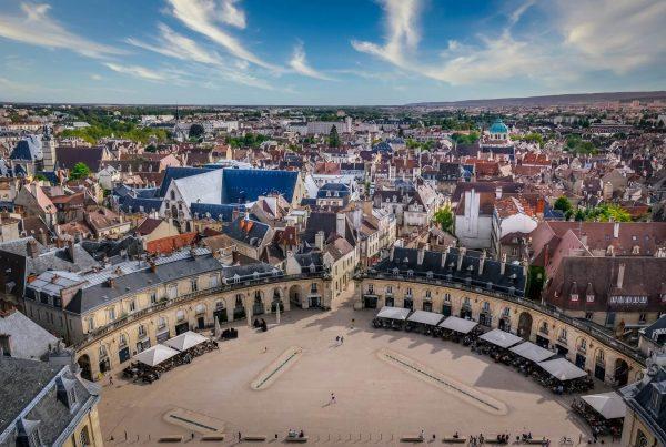 vacances Dijon : vue panoramique de la ville de Dijon